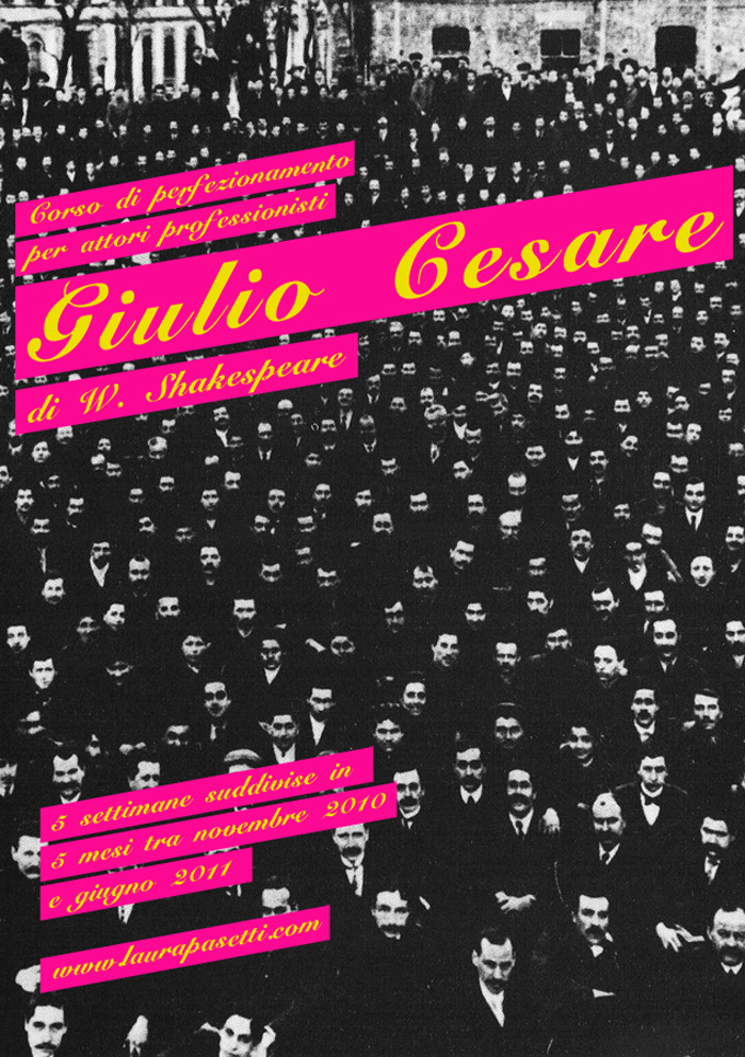 Giulio Cesare – Corso itinerante